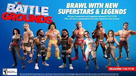 WWE2K BG DLC 1 Infographic