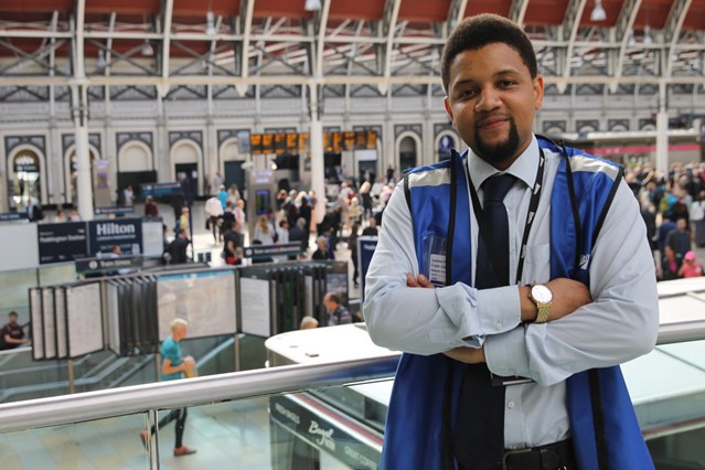 New documentary series starts on Monday in behind the scenes look at London Paddington and the staff who run the station: Frank Granger