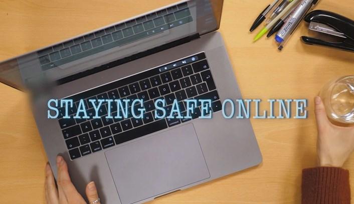 staying safe online (image)