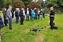 Charlie Everett - NWCU- at Sharing Good Practice Marine Wildife Crime event - drone-d1090