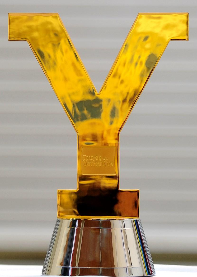 Tour de Yorkshire trophy comes to Otley: etourdeyorkshiretrophy.jpg