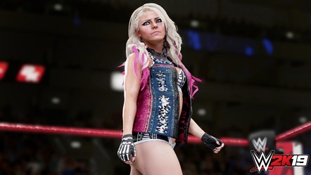 WWE2K19 Alexa Bliss