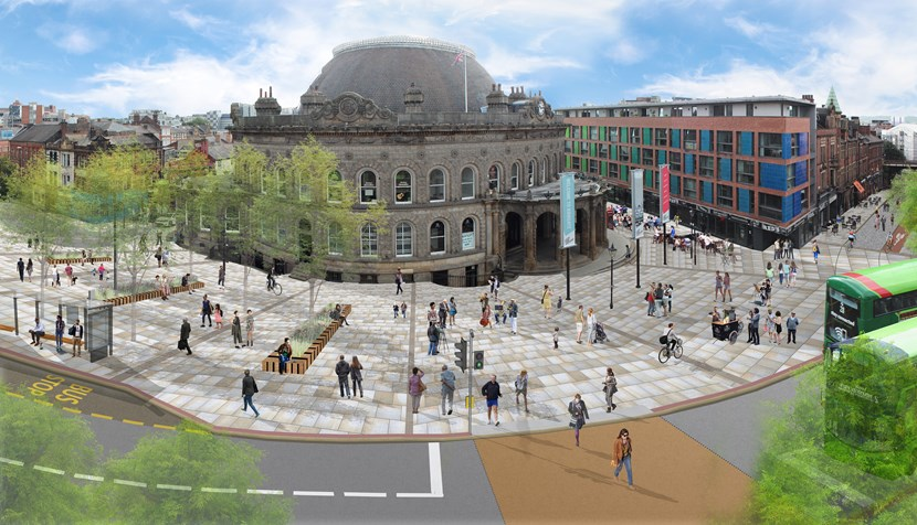 Senior councillors approve £21.5million Corn Exchange Connecting Leeds improvements scheme: connectingleedscornexchange.jpg
