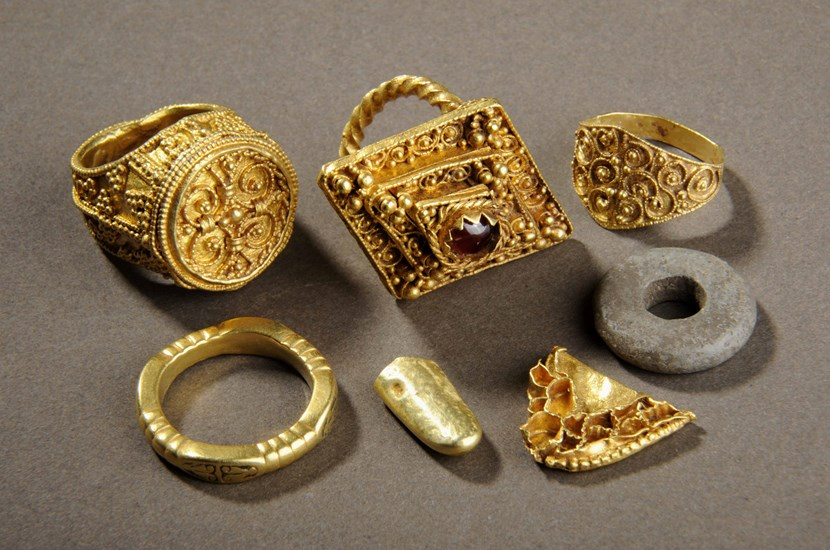 New display for city's spectacular Anglo Saxon treasures: groupshot2small.jpg