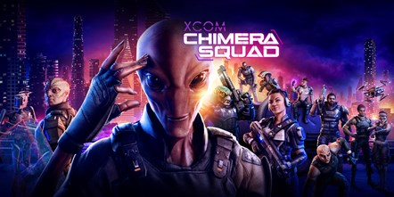 XCOM Chimera Squad Art Horizontal