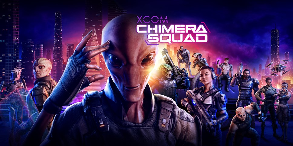 XCOM®: Chimera Squad Available Today on Steam!: XCOM Chimera Squad Art Horizontal