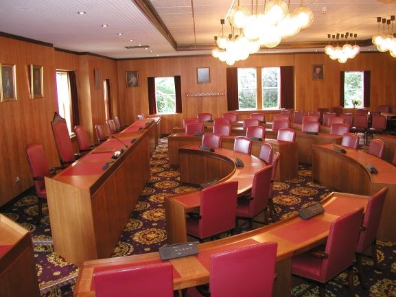 Successful launch of council meetings online: Council Chamber 4