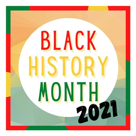 Black History Month 2021: Black History Month 2021 logo
