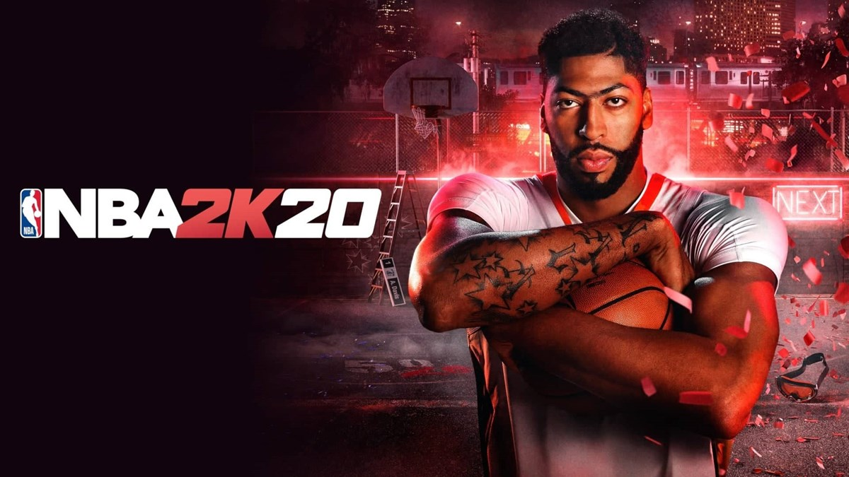 NBA2K20 Anthony Davis Art 2
