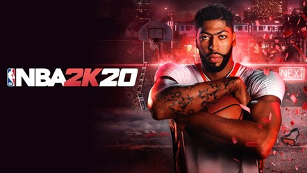 2K Announces Inaugural NBA® 2K20 Global Championship: NBA2K20 Anthony Davis Art 2