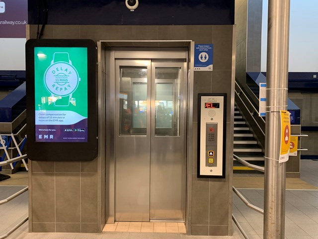 Network Rail completes first stage of Derby station lift revamp: Lifts at main entrance of Derby railway station have been revamped