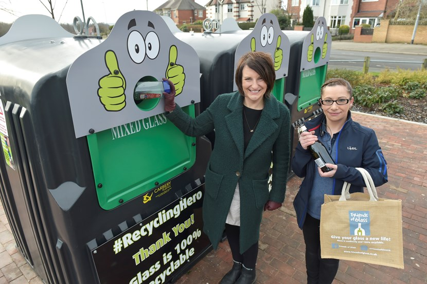 Leeds enjoys a Lidl recycling love with new glass banks : cllrlucindayeadon.jpg
