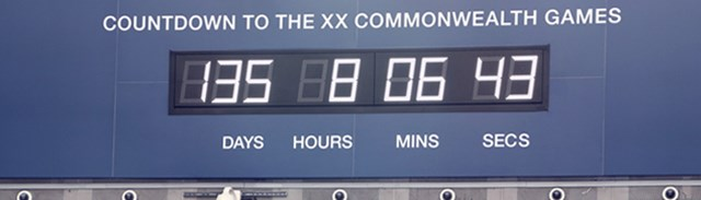 Glasgow 2014 Countdown Clock - Feature
