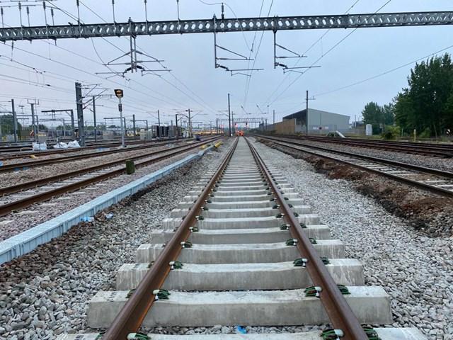 Upgraded track