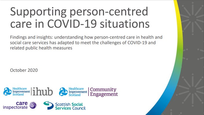 Supporting person-centred care (image)