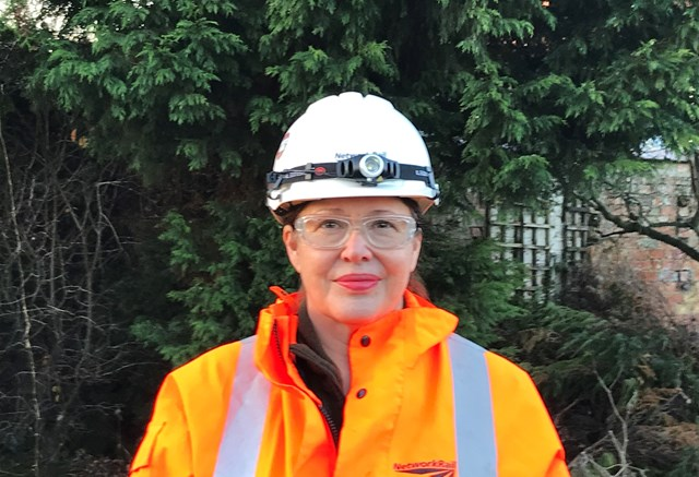 Network Rail workers give up Christmas with their families to work on major East Yorkshire bridge upgrade: Ann White, Scheme Project Manager for Network Rail