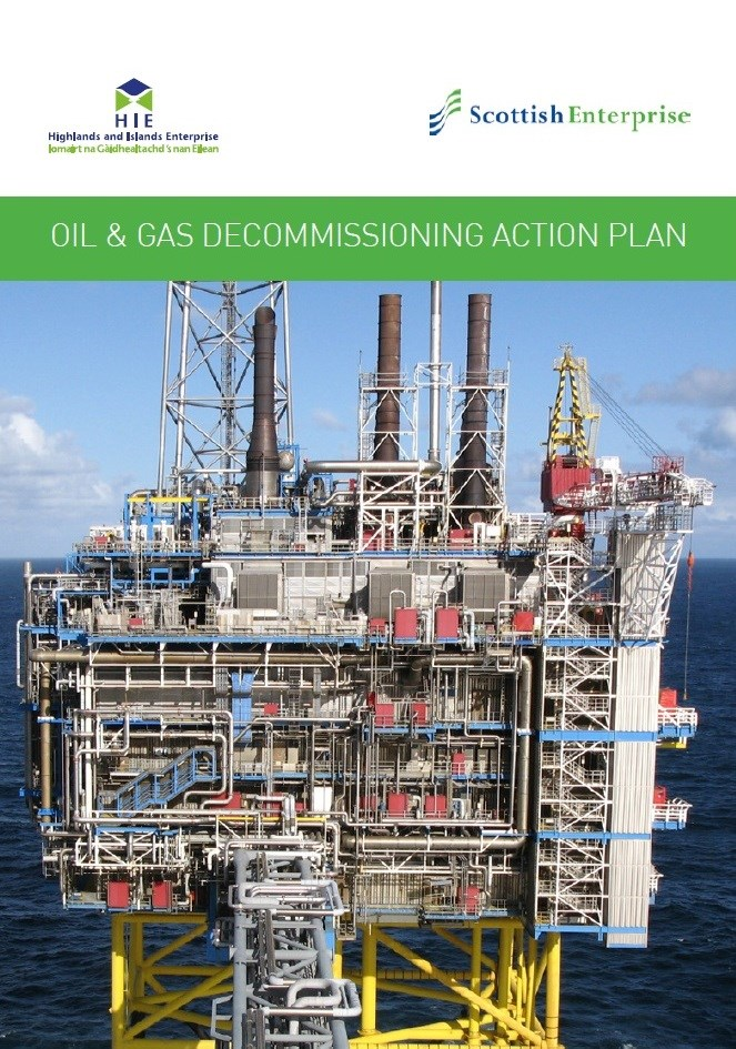 O&G Decommissioning Action Plan: Front cover picture