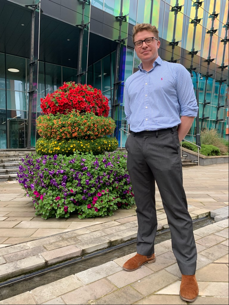 LGBT+ flower towers light up Sovereign Square: cllrpryor-sovereignsq-lgbtflowersquares-863872.jpg