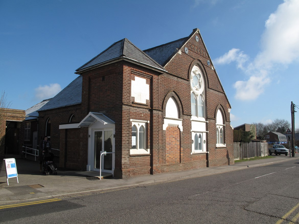 HS2 Community Fund helps replace windows at Prestwood Methodist Church: Prestwood Methodist Chuch, Great Missenden