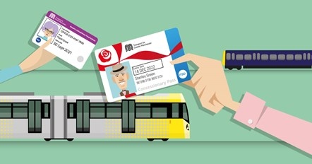 Add tram and train to your pension-age pass for £10 per year: 19-1980 add tram and train concs
