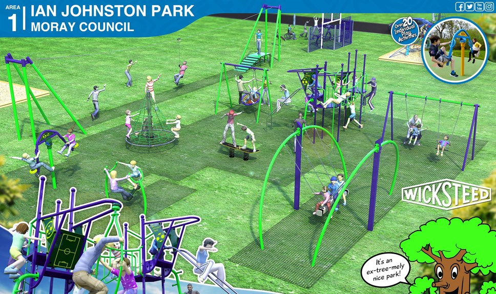 Work on a new £43k play park in Buckie to begin: Ian Johnston park1