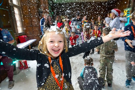 Rail industry teams up with Scotty's Little Soldiers to put smiles on the faces of bereaved British Forces children this Christmas: Scotty's Christmas party