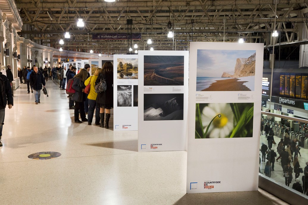 Explore Britain's most breath-taking landscapes at London Waterloo station: Landscape Photographer of the Year exhibition London Waterloo3