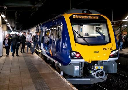 New Train Preston - Man Vic 8