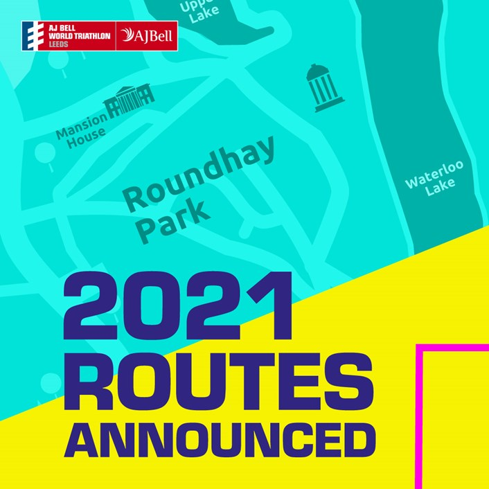 2021-Route-announcement-Traithlon: The routes have been announced for AJ Bell 2021 World Triathlon Leeds.