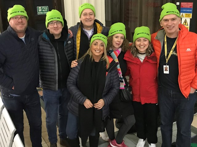 Network Rail sleepout event at Leeds station raises thousands for charity Railway Children: Network Rail sleepout event at Leeds station raises thousands for charity Railway Children