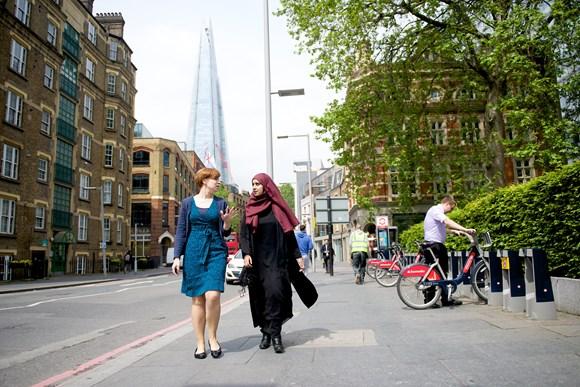 TfL Image - Walking and cycling