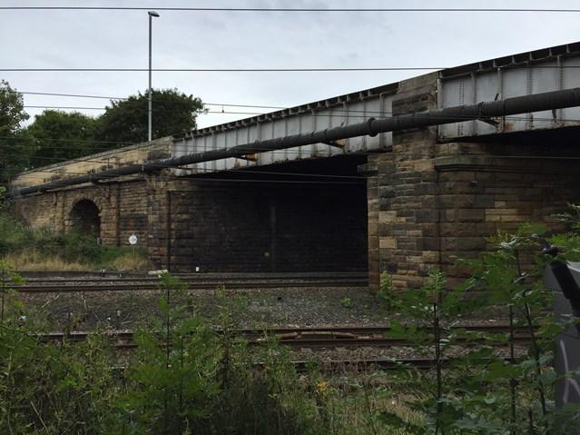 Chowdene to benefit from railway upgrade: Chowdene Bank railway bridge is to be upgraded (2)