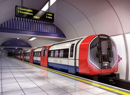 TfL and Siemens Mobility unveil detailed design of new Piccadilly line trains: Piccadilly exterior FD 01 JH2-resized