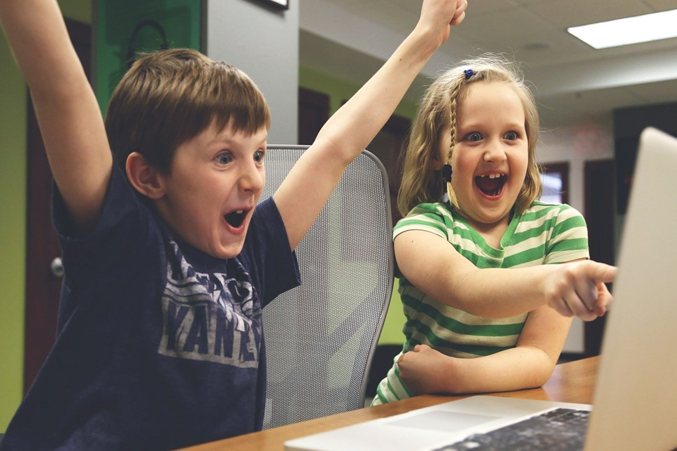 We're keeping your energy flowing: Happy kids