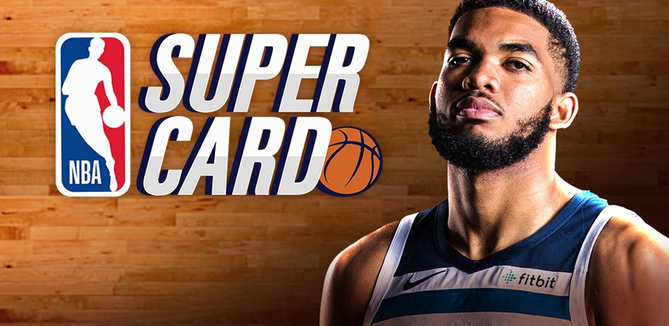 NBA SuperCard Key Art