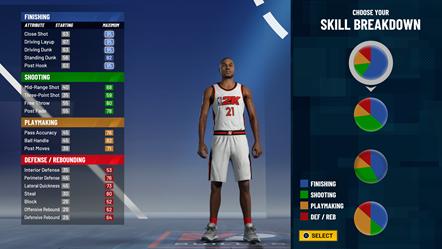 NBA 2K21 - CG Demo MyPLAYER Builder Skill Breakdown