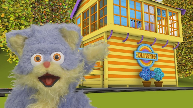 Canton Depot welcomes Oli Wyn ahead of new S4C children's transport series: OliWyn1