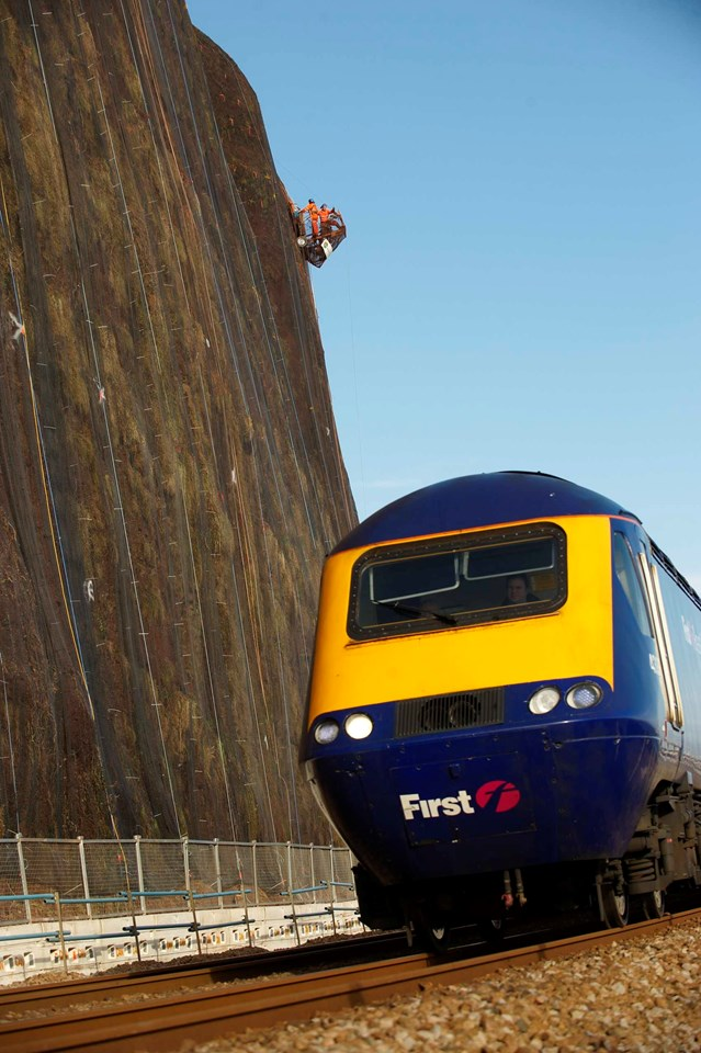 Network Rail Scaling New Heights