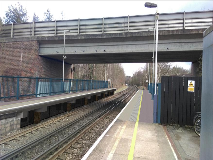 Work to boost rail capacity at Martins Heron set to begin: Martins Heron Visualisation