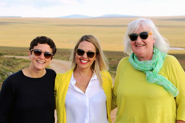 Minister visits proposed UNESCO site in Flow Country: Flow Country visit - Mairi Gougeon Gail Ross Frances Gunn - July 2019