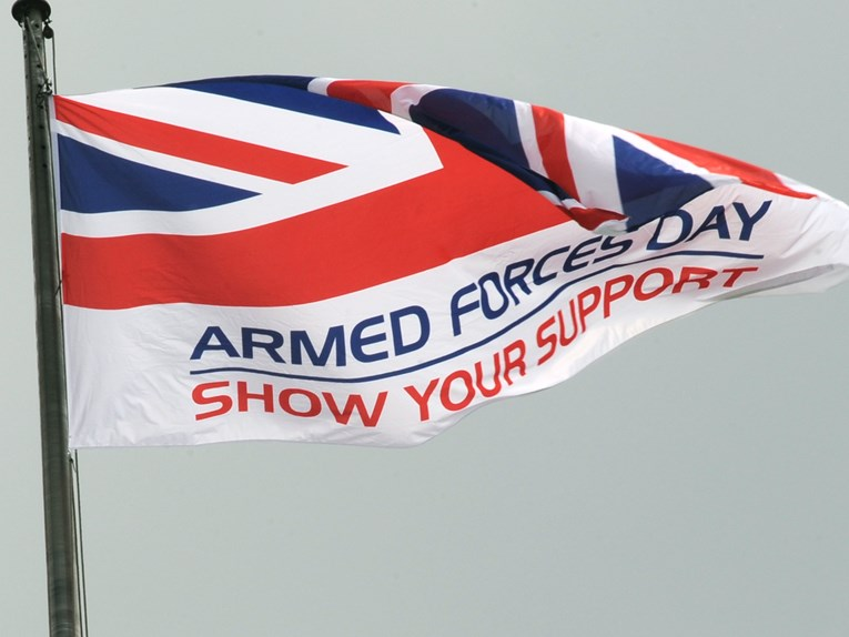 Armed Forces Day Llandudno 30th June: Travelling by train: ArmedForcesDay