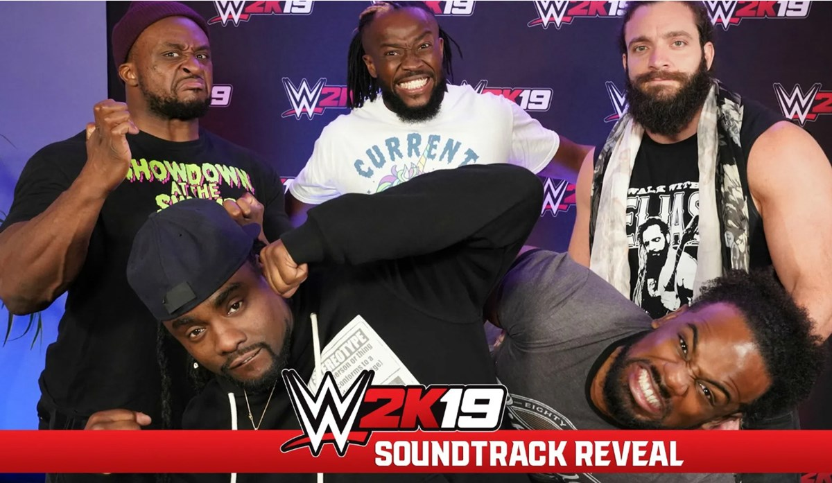 WWE2K19 Soundtrack Art