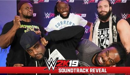WWE2K19 Soundtrack Art