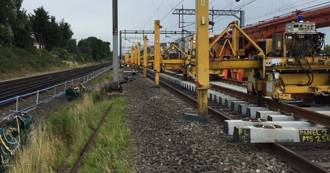 Railway reopens after successful bank holiday upgrades are completed on time: North Wembley junction replacement