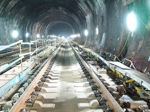 Southampton Tunnel New Track