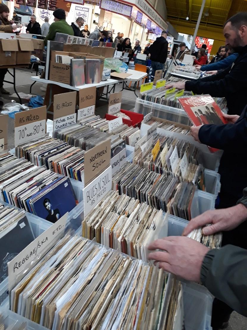 It's a bumper day this Saturday at Leeds Kirkgate Market: recordandbookfair-732444.jpg