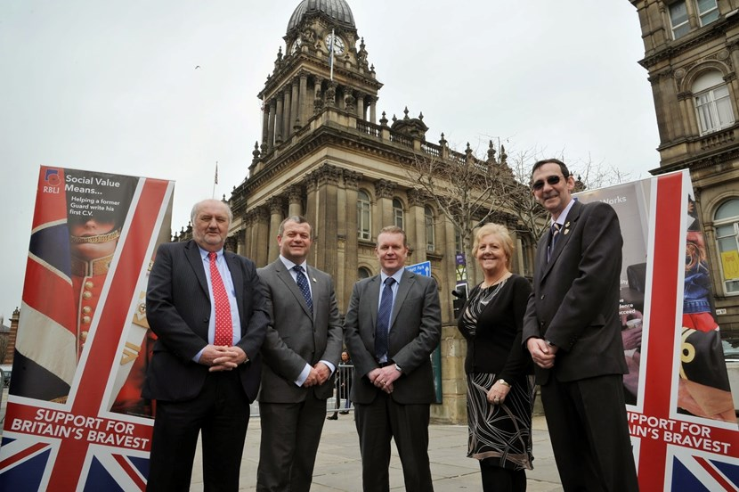 Leeds City Council joins military charity in offering employment and training to local veterans: afcovenant3.jpg