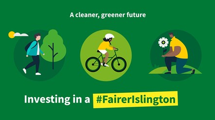 Green light for major new investment in the environment in Islington Council's budget: Pic - budget