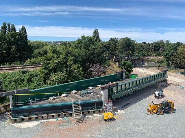 New bridge and new rails on track as Network Rail invests £9.1m to improve railway in Kent and South East London this August Bank Holiday: Catford's newest bridge ready to be put in place