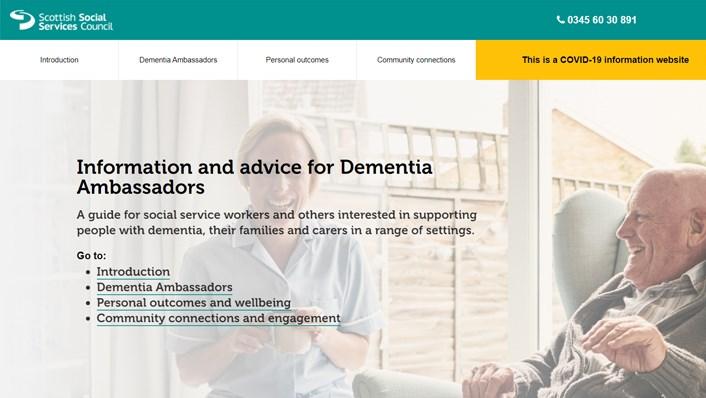 Dementia Ambassadors guide (image)